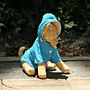 hesapli Köpek Yakalar, Kuşaklar ve Kayışlar-Köpek Yağmur Paltoları Köpek Giyimi Solid Turuncu / Gül / Mavi Naylon Kostüm Evcil hayvanlar için Su Geçirmez