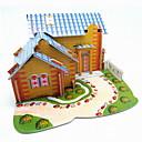 preiswerte Puzzles-Mode DIY 3D eps Karton Handwerk Puzzle für Kinder (4pcs / bag)