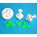 Χαμηλού Κόστους Εργαλεία και γκάτζετ ψησίματος-Εργαλεία ψησίματος Πλαστική ύλη Φιλικό προς το περιβάλλον / 3D Ψωμί / Κέικ / Σοκολατί ψήσιμο Mold