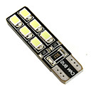 hesapli Car Signal Lights-SO.K 2pcs T10 Araba Ampul 2.2 W SMD LED 12 Dönüş Sinyali Işığı For Uniwersalny