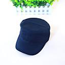 hesapli Erkek Şapkaları-Erkek Günlük Pamuklu Güneş şapkası Solid / Şapka ve Kep / Tüm Mevsimler