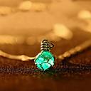 hesapli Küpeler-Kristal Uçlu Kolyeler - Kristal Moda Elyapımı Kolyeler Mücevher Uyumluluk Günlük
