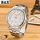 Buy Men's Fashion Commerce Quartz Analog Steel Belt Watch(Assorted Colors) Wrist Watch Cool Unique