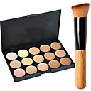 cheap Makeup & Nail Care-15 Colors Concealer / Contour Makeup Brushes 1 pcs Dry / Combination / Oily Face Makeup Cosmetic