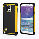 hesapli Galaxy Note Serisi Kılıfları / Kapakları-DE JI Pouzdro Uyumluluk Samsung Galaxy Samsung Galaxy Note Şoka Dayanıklı Arka Kapak Zırh PC için Note 4 / Note 3
