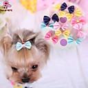 ieftine Câini Articole şi Îngrijire-Pisici Câine Accesorii Păr Funde Îmbrăcăminte Câini Trandafiriu Albastru Roz Material amestecat Costume Pentru Primăvara & toamnă Cosplay Nuntă
