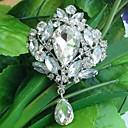 hesapli Yüzükler-Kadın Broşlar Moda Ekran Rengi Mücevher Için Düğün Parti Özel Anlar Doğumgünü Günlük
