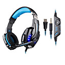 cheap Accessories For GoPro-KOTION EACH Over Ear / Headband Wired Headphones Plastic Gaming Earphone with Volume Control / with Microphone / Noise-isolating Headset
