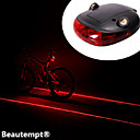 cheap Headsets & Headphones-Bike Lights / Rear Bike Light Laser / LED Cycling Impact Resistant / Waterproof / Laser Lithium Battery Lumens Battery Cycling / Bike