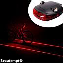 저렴한 자전거 라이트-자전거 라이트 / 자전거 후미등 레이저 / LED 싸이클링 충격 방지 / 방수 / 레이져 리튬 배터리 루멘 배터리 사이클링