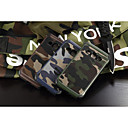 cheap LEDs-Case For Samsung Galaxy Samsung Galaxy Case Shockproof Back Cover Camouflage Color PC for J1 Grand Prime E7 E5 Core Prime