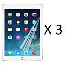 hesapli Makyaj ve Tırnak Bakımı-Ekran Koruyucu Apple için iPad Mini 4 PET 3 parça Ön Ekran Koruyucu Ultra İnce Yüksek Tanımlama (HD)