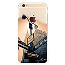 cheap iPhone Cases-Case For Apple iPhone 7 / iPhone 7 Plus / iPhone 6 Plus Pattern Back Cover City View Soft TPU for iPhone 7 Plus / iPhone 7 / iPhone 6s Plus