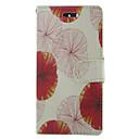 Недорогие Чехлы и кейсы для Galaxy S5 Mini-Кейс для Назначение SSamsung Galaxy S5 Mini / S5 / S4 Mini Кошелек / Бумажник для карт / со стендом Чехол Цветы Кожа PU