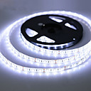 cheap LED Strip Lights-5m 300 LEDs 3528 SMD Warm White / RGB / Red Cuttable / Rechargeable / Waterproof 12 V / IP65 / Self-adhesive