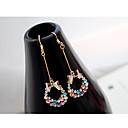 preiswerte Ringe-Damen Ohrstecker Tropfen-Ohrringe - Krystall, Strass nette Art Regenbogen Schleifenform Für Party Alltag Normal