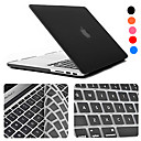 cheap Bathroom Gadgets-MacBook Case / Combined Protection Cases With Keyboard Solid Colored / Transparent ABS for Macbook Pro 13-inch / Macbook Air 11-inch / MacBook Pro 13-inch with Retina display