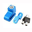 رخيصةأون الدرجات النارية وأجزاء السيارات-دراجة نارية دراجة مكافحة سرقة القرص إنذار قرص الفرامل قفل ث 2 مفتاح