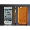 hesapli Fırın Araçları ve Gereçleri-Pouzdro Uyumluluk iPhone 5 / Apple iPhone 5 Kılıf Kart Tutucu Arka Kapak Solid Sert PU Deri için iPhone SE / 5s / iPhone 5