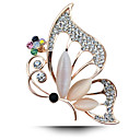 hesapli Bilezikler-Kadın's - Moda Broş Altın / Beyaz / Gökküşağı Uyumluluk Düğün / Parti / Günlük