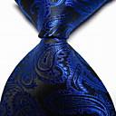 ieftine Cravate-Bărbați Imprimeu Paisley Imprimeu Petrecere / Birou / De Bază Cravată