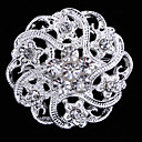 cheap Brooches-Women's Brooches - Crystal Fashion Brooch For Wedding / Party / Special Occasion