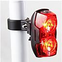 hesapli LED Spot Işıkları-Bisiklet Arka Işığı / emniyet ışıkları / Tail Lights LED Bisiklet Işıkları - Bisiklet Su Geçirmez, LED Işık, Kolay Taşınır AAA 400 lm Batarya Bisiklete biniciliği / Çoklu mod
