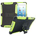 hesapli iPad Kılıfları/Kapakları-DE JI Pouzdro Uyumluluk Apple Şoka Dayanıklı / Satandlı Arka Kapak Zırh PC için iPad Mini 3/2/1
