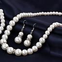 preiswerte Halsketten-Damen Perle Anhängerketten / Perlenkette - Perle Europäisch, Brautkleidung Silber Modische Halsketten Schmuck 1pc Für Hochzeit