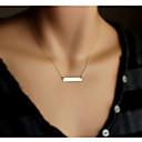 Недорогие Колье и ожерелья-Жен. Ожерелья с подвесками - Мода Золотой Ожерелье Бижутерия Назначение Для вечеринок, Повседневные
