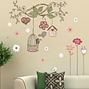رخيصةأون ملصقات ديكور-لواصق حائط مزخرفة - لواصق مناظر طبيعية / كريستمس / المزين بالأزهار غرفة الجلوس / غرفة النوم / دورة المياه / قابل للنقل