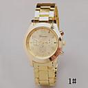 preiswerte Halsketten-Damen Armbanduhr Quartz Schlussverkauf Legierung Band Analog Charme Modisch Silber / Gold / Rotgold - 1 # 2 # 3 #