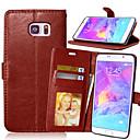 abordables Pochettes de Tablette-Coque Pour Samsung Galaxy Samsung Galaxy Note Porte Carte Portefeuille Avec Support Clapet Coque Intégrale Couleur unie faux cuir pour