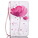 cheap Phone Cables & Adapters-Case For Samsung Galaxy Samsung Galaxy Case Wallet / Card Holder / with Stand Full Body Cases Flower PU Leather for S6 edge plus / S6 edge / S6