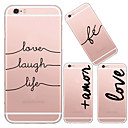 cheap iPhone Cases-Case For Apple iPhone X / iPhone 8 / iPhone 6 Plus Transparent Back Cover Cartoon Soft TPU for iPhone X / iPhone 8 Plus / iPhone 8