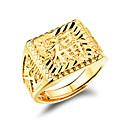 preiswerte Armbänder-Herrn Bandring - vergoldet Modisch Verstellbar Golden Für Hochzeit Party Alltag