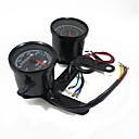 economico Componenti per motociclette e quad-indicatore contagiri moto universale calibro contachilometri tachimetro condotto con staffa