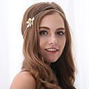 hesapli Saç Takıları-Kadın's Zarif alaşım Saç Bandı - Çiçekli / Saç Bantları / Saç Bantları