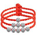 preiswerte Halsketten-Glasperlen Bettelarmbänder Strang-Armbänder - Sterling Silber Armbänder 3 # / 4 # / 5 # Für Hochzeit Party Alltag
