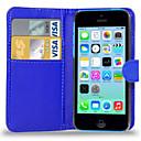 ieftine Carcase iPhone-Maska Pentru iPhone 5C / Apple iPhone 8 Plus / iPhone 8 / iPhone 5c Carcasă Telefon Greu PU piele