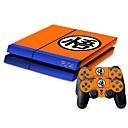 hesapli PS4 Aksesuarları-B-SKIN PS4 PS / 2 Çıkarmalar Uyumluluk PS4 ,  Yenilikçi Çıkarmalar PVC 1 pcs birim
