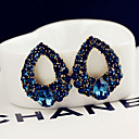 cheap Necklaces-Women's Stud Earrings - Blue For Wedding Party Daily