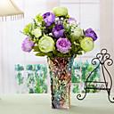 رخيصةأون Home Fragrances-زهور اصطناعية 1 فرع النمط الرعوي الفاوانيا أزهار الطاولة