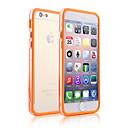 hesapli Makyaj ve Tırnak Bakımı-Pouzdro Uyumluluk Apple iPhone 6 iPhone 6 Plus Şeffaf Tampon Solid Yumuşak TPU için iPhone 6s Plus iPhone 6s iPhone 6 Plus iPhone 6