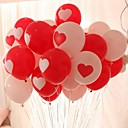 cheap Home Decoration-10PCS Hearts Round Shape Wedding Birthday Party Decoration Home Decor Festival