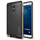 hesapli Tablet Ekran Koruyucuları-Pouzdro Uyumluluk Samsung Galaxy Samsung Galaxy Note Şoka Dayanıklı Arka Kapak Zırh TPU için Note 4