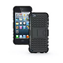 cheap iPod Cases/Covers-TPU+ PC Hybrid Rugged Rubber Armor stand Hard Cover Cases For iPod Touch 5