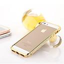 hesapli LED Araba Ampulleri-Pouzdro Uyumluluk iPhone 5 iPhone 5 Kılıf Taşlı Tampon Solid Sert Metal için iPhone SE / 5s / iPhone 5