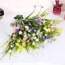 hesapli Küpeler-Yapay Çiçekler 1 şube minimalist tarzı Orkideler Masaüstü Çiçeği