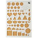 preiswerte Spiel Sets für Kinder-Urlaubsdekoration Formen Papiermodelle Heimwerkzeug Gute Qualität 1set 1pc